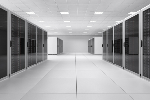 Serverstandschränke Rechenzentrum
