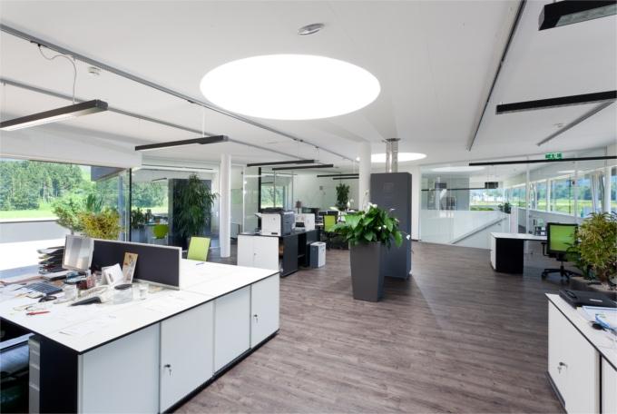 Büroinstallation