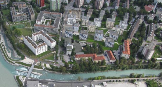 Lodenareal und O3, Innsbruck